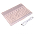 Ultrathin Mobile Bluetooth Wireless Keyboard Dock Case for iPad2 - Brown
