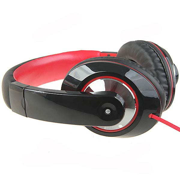 Kanen IP-780 Bass Stereo Headset with Omnidirectional Microphone -Black