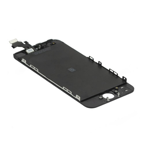 LCD Screen with Touch Screen and Digitizer Frame Assembly for iPhone 5 - Black