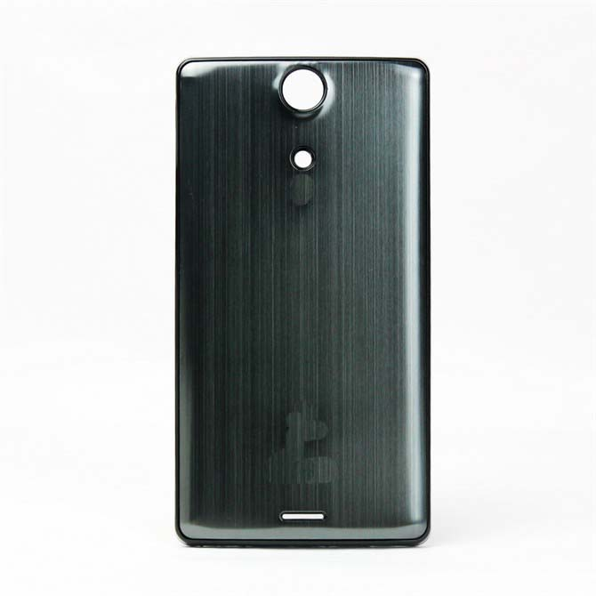 LT29I XPERIA Brushed Metal Colorfull Battery Cover for Sony Ericsson -Black Border