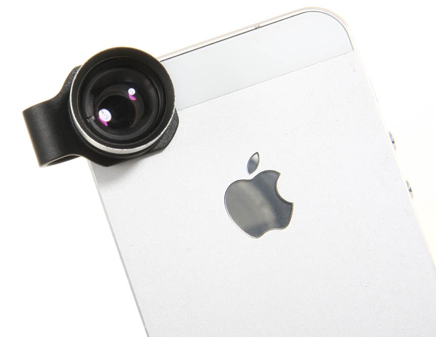 Lesung Effects Lens, External Filter Camera for iPhone 4/4S/5 2X Tele-converter Lens -Black