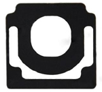 Metal Home Button Pad Replacement  iPad 2 2nd Original