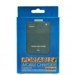 2800mAh Portable Mobile Charger for iPhone iPod BlackBerry - Black