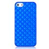 Newtons 3D Water Cube Shock-proof Protective Case for iPhone 5 - Blue