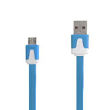 Noodle Micro USB Data Sync Charge Cable for Samsung HTC Sony Nokia LG Blackberry Motorola et