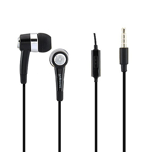 OEM In-Ear Stereo Headphone with Mic for Samsung Mobile Phone - Black