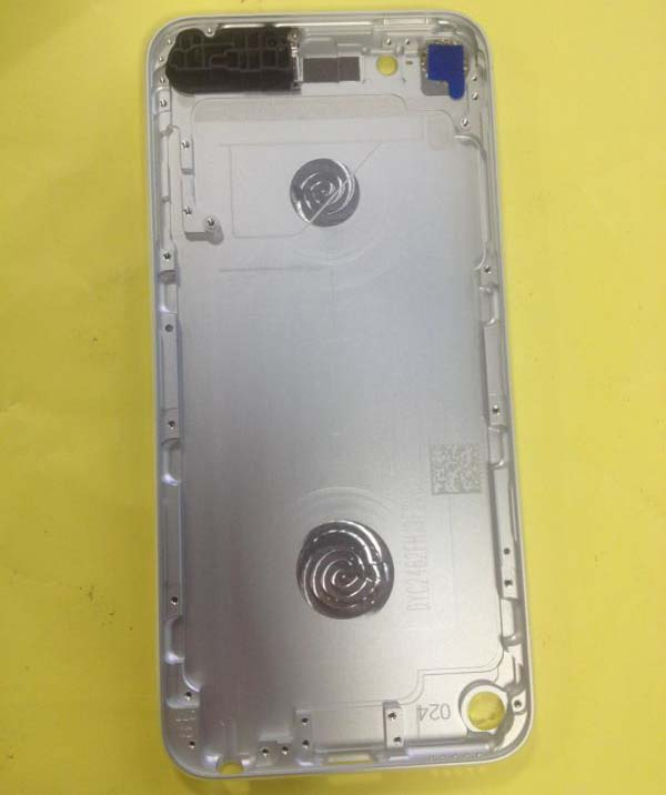 Original Touch 5 Back Cover Replacement for iPod -Silver