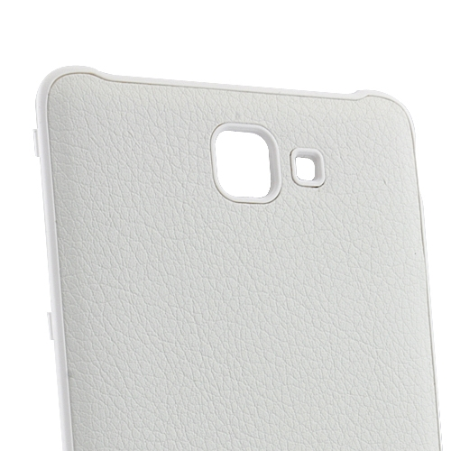 PU Leather Battery Back Cover for Samsung Galaxy Note i9220 GT-N7000 - White