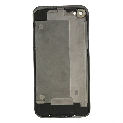 Plating for iPhone 4 Conversion Kit (LCD Assembly + Back Cover + Home Button) - Yellow