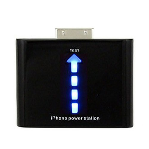 Power Station Battery for iPhone 4S 4 3GS iPod - Black
