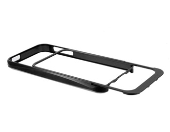 Pull-out Style Metal Frame for iPhone 5 -Black
