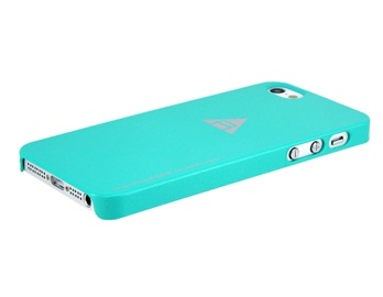 Rock Baking Finish Protective Case for iPhone 5 -Green