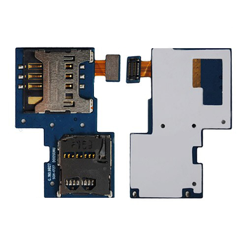 SIM Card and Memory Card Connector Flex Cable for Samsung Galaxy S II Skyrocket i727