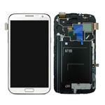 for Samsung Galaxy Note ii N7100 LCD Assembly with Touch Screen + Middle Frame + LCD Metal Plate