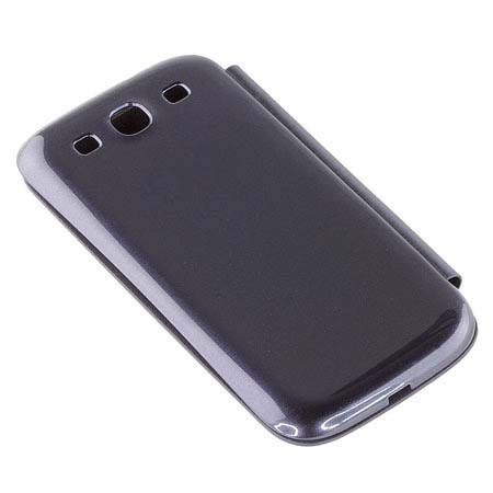 for Samsung Galaxy S3 i9300 Flip Cover Case - Chrome Blue
