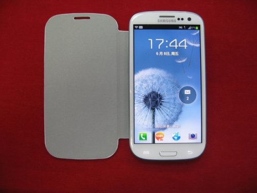 for Samsung Galaxy S3 i9300 Flip Cover Case - White