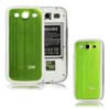 for Samsung Galaxy S3 i9300 aluminum replacement back cover-Green/White