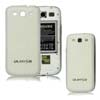 for Samsung Galaxy S3 i9300 aluminum replacement back cover-Carbon Fiber White