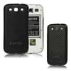 for Samsung Galaxy S3 i9300 aluminum replacement back cover-Carbon Fiber Black