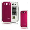 for Samsung Galaxy S3 i9300 aluminum replacement back cover-Red/White