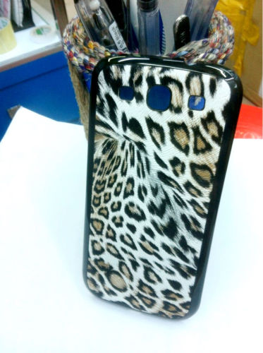 for Samsung Galaxy S3 i9300 replacement back cover-Black Leopard