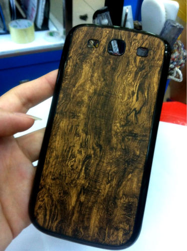 for Samsung Galaxy S3 i9300 replacement back cover-Wooden