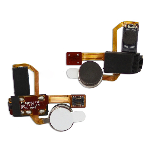 for Samsung S5560 Marvel Audio Flex Cable (Earphone Jack + Motor + Earpiece)
