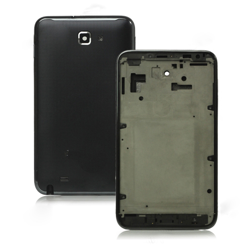 for Samsung i9220 Galaxy Note N7000 Faceplates Housing Cover Replacement OEM - Black