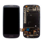 for Samsung i9300 Galaxy S iii LCD Assembly w/ Touch Screen Digitizer and Other Parts (Frame + H