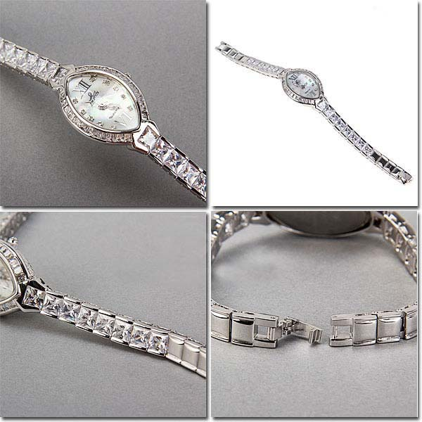 Smays Fashion Women's Watch Japan Movt Quartz Dial Silver Copper Watchband