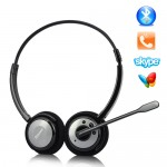 Techo-4 Incredible Rechargeable Wireless Stereo Bluetooth Headset (A2DP + Boom MIC) -X647