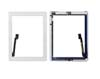 The NEW iPad 3 White Touch Screen Digitizer Home Button Assembly