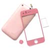 Touch Glass digitizer & Back cover kit for iPhone 3GS - Pink
