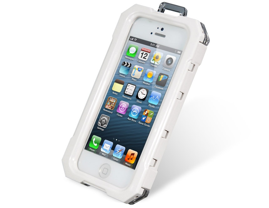Transparent Silicone Waterproof Protective Case Box for iPhone 5