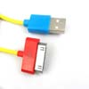 5PCS USB Data Sync Cable + Charger Cord for iPhone/iPad -1M -Yellow