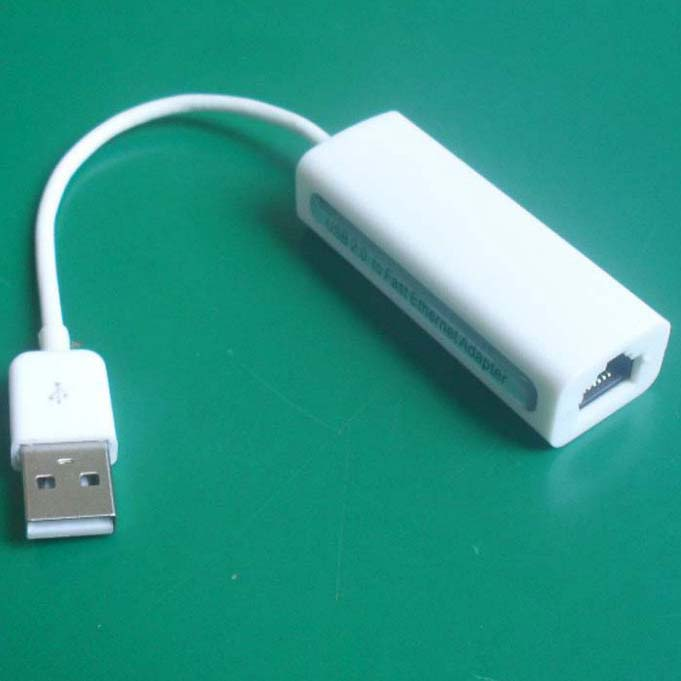 "USB2.0 A Male to RJ45 Female Ethenrnet Adapter for Tablet 7""/8""/10"" inch"