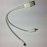 USB Male to 8 Pin 5 PIN / to Micro USB Data Sync Charger  Cable for iPhone5 & Smart