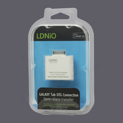 USB OTG Connection Kit and Card Reader for Samsung Galaxy Tab 10.1 P7500 P7510