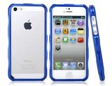 Ultra-Thin Design Metal Protective Frame for iPhone 5 -Blue