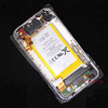 White rear back cover housing assembly for iPhone 3G 16G