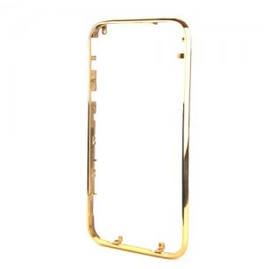 Chrome Bezel Replacement for iPhone 3GS/3G -Gold