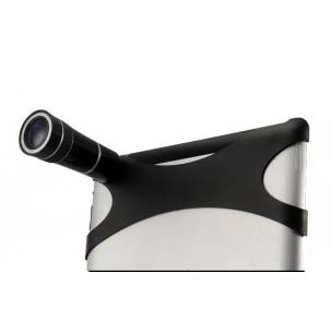 Optical 10x Zoom Lens Camera Telescope for iPad 2 -Black