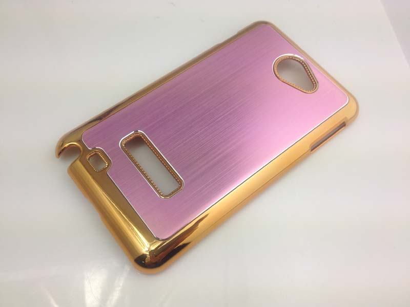 Brush Aluminum Hard Case for Samsung Galaxy Note i9220 - Pink