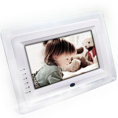 7 Inch TFT LCD Baby Monitor Systems with High-def 2.4GHz Wireless Camera