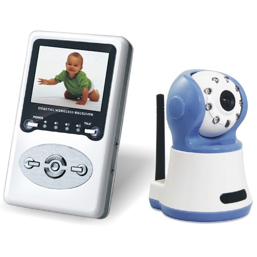 Jamproof Digital Wireless Baby Monitor Support 200 Meters Transmitting Range