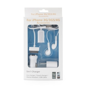 5-in-1 Combo Kit for iPhone iPod
