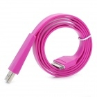 Flat Design USB Sync / Charging Cable for iPhone4 4S iPad iPad2 - Purple