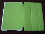 for iPad Mini PU leather Case -Green