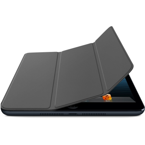 for iPad mini Smart Cover + Back Case -Black (OEM)