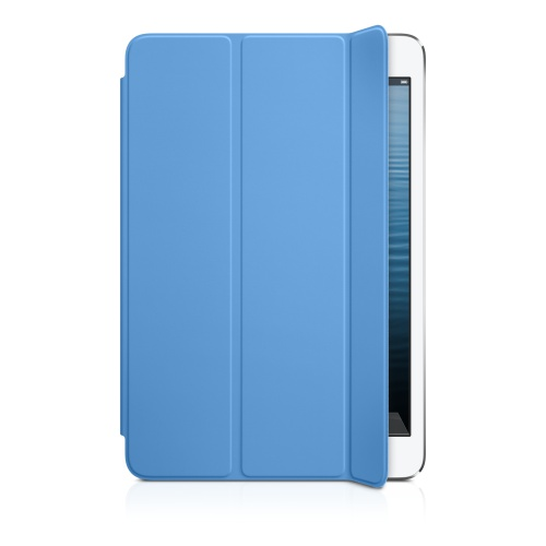 for iPad mini Smart Cover + Rear Case -Light Blue (OEM)